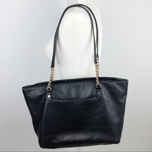 Michael Kors Jet Set East West Chain Leather Tote